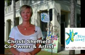 Business Spotlight : Blue Giraffe Art Galle...