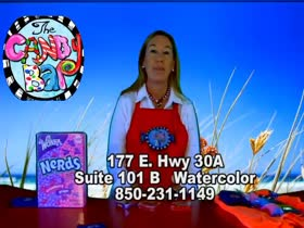 Business Spotlight : Candy Bar in Watercolo...